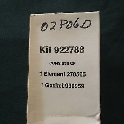 Lot of 26--NEW Filter Element Kit 922788 - 270565 element and 936959 gasket