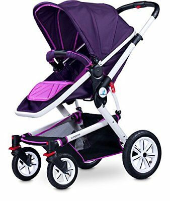 Caretero Compass - Carrito 2 en 1, color morado