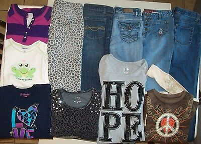 Girls jeans clothes lot size 14 Girls Clothes jeans size 14 Justice