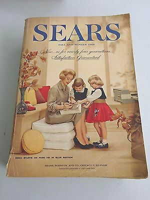 1960 Sears Fall and Winter Catalog, 1592 Pages
