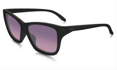 Oakley Hold On OO9298-02 Black Square Frame w/ Polarized Pink Gradient Lenses
