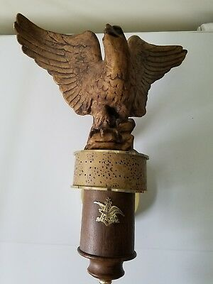 Michelob Carved Eagle Wall Hanging Sconce 302-255 Anheuser Busch Sign Display