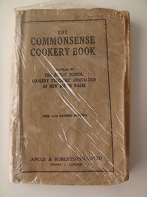 Common Sense  Cookery Book, Public School Cookery Teachers' Assoc. Of Nsw, 1946