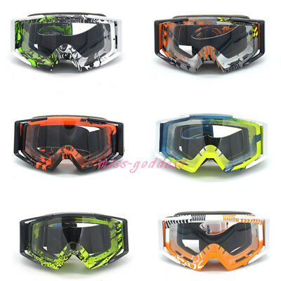 Colorful Gafas Moto Vintage UV Protection Off Road Motocross Goggles Glasses