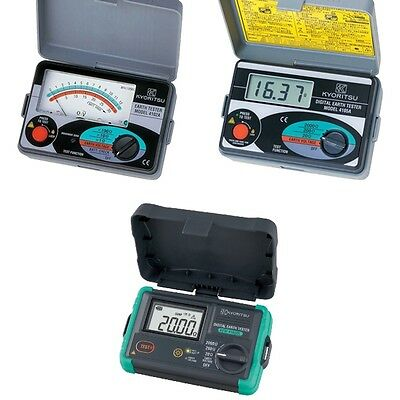 KYORITSU / EARTH RESISTANCE METER Kew Earth Tester 3 Model