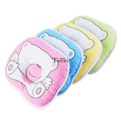 Bear Pattern Pillow Newborn Infant Baby Support Cushion Pad Prevent Flat Head TX