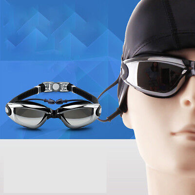 Adult Men Women Anti-fog Waterproof UV Protection Swimming Goggles Glasses