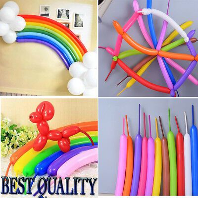 TWISTED Magic Long Animal Balloon Mixed Colour Tying Making Balloons Twist Latex