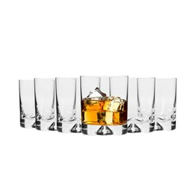 New Krosno Triad Whisky Glass 260ml Set of 6