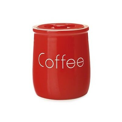 New Maxwell & Williams Chef Du Monde Coffee Canister 500ml Red