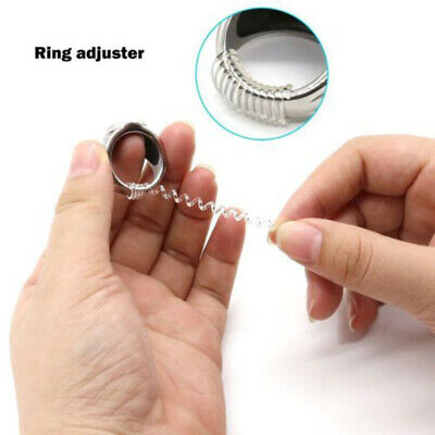 Ring size reducers Spiral Invisible Snugs Guard RESIZER ADJUSTERS TOOLS 12PCS