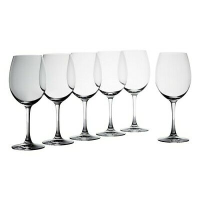 New Krosno Vinoteca 480ml Pinot Wine Glass - Set of 6 - Gift Boxed