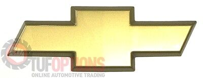 NEW GENUINE WH WK WL Statesman Chevrolet Gold Bow Tie Grille Badge - 92117536