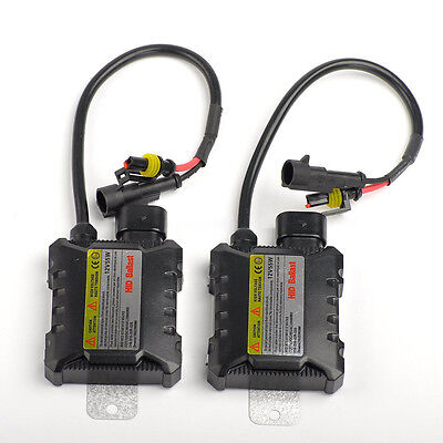 2x numérique 55w SLIM Hid de rechange Light Ballast Conversion Kit univers @ L