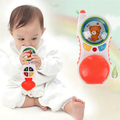 Hot sale Baby Learning Musical Sound Cell Phone kid Educational Toys
