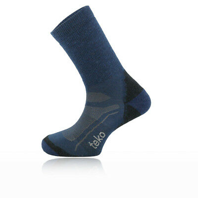Teko SIN3RGI Light Mens Blue Outdoors Walking Hiking Long Socks