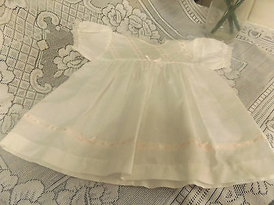 Vintage Dolls Dress For A Baby Doll.