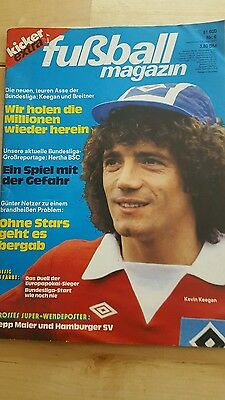 KICKER EXTRA -- Fußball Magazin  # 6/1977 / KEVIN KEEGAN ( Mighty Mouse HSV )