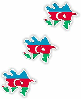 3x Iran Map Flag Stickers Silhouette With Flag for Helmet Hard Hat Locker