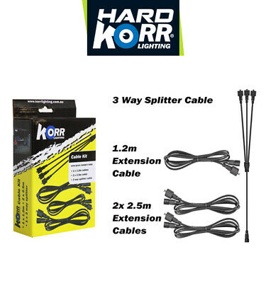 Korr Dc Extension Pack - Quick-Connect Leads, Lighting Accessories, Electrical