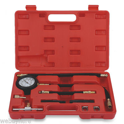 100PSI Fuel Injection Pump Pressure Injector Tester Test Pressure Gauge Kits