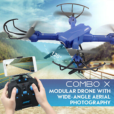 JRC H38WH Drone Wifi FPV Helicopter 2MP HD Camera 120° Angle Camera  Quadcopter