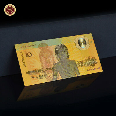 WR Australia Gold Banknote Colour 1988 $10 Bicentenary Commemorative Note Gifts