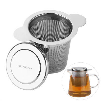OUNONA Loose Tea Leaf Mesh Infuser Strainer Filter Herb Spice Diffuser AU Stock
