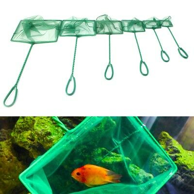 "1PC Aquarium Fish Tank Square Shrimp Small Betta Tetra Fish Net 3""-10"" 6 Sizes"