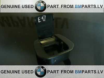 Genuine Bmw 1 3 X Series  Isofix Cover Black 52207118674