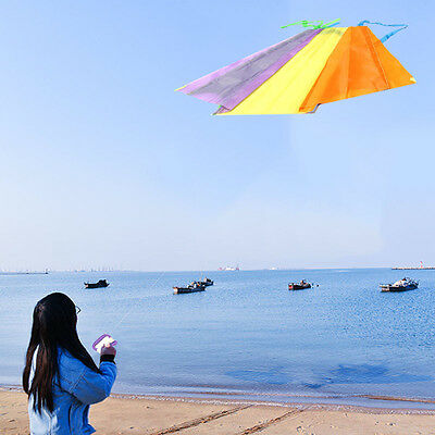 Soft pocket Foldable Kite Outdoor Children Fun Sports Kids Toys Gift Air Fly New
