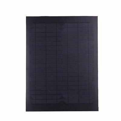 18W 12V Flexible Foldable Solar Panel Power Supply Outdoor Charger DIY