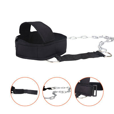 Head Weight Lifting Neck Strength Strap Exercise Fitness Equipment Accessories