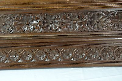 US0087 2 different salvaged pieces of carved antique wood