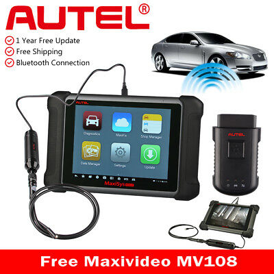 Autel MaxiSys MS906BT Wireless Diagnostic Tool Code Reader Scanner ECU Coding