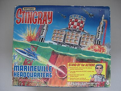 Used Matchbox Stingray Marineville Headquaters with NEW & used Figures