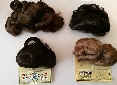 "Doll Wigs 9"" - 10'' set of 4"