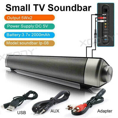TV Sound Bar Home Theater Subwoofer Stereo Soundbar with Bluetooth Wireless HIFI