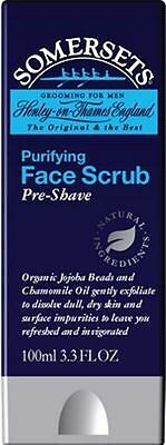 Somersets Pre-Shave Face Scrub 100ml