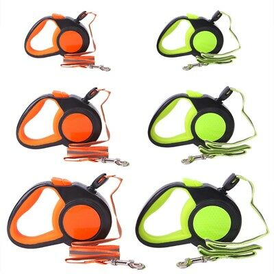 Retractable Dog Leash Automatic Reflective Walking Leads For Small Medium Dogs