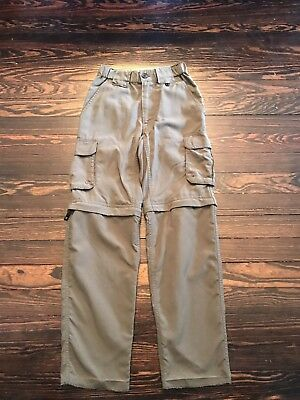 BSA Boy Scouts Of America Green Uniform Switchback Pants Youth Size Small