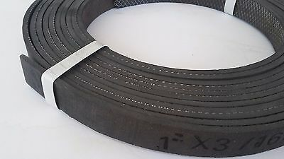 """1"""" -Wide x 3/16"""" -Thick Rolled Wire Back Brake Lining ~ Sold By The Foot"""
