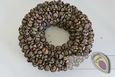 Natural Cypress Cone Wreath
