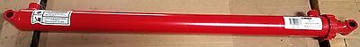"""NEW  2"""" BORE x 30"""" STROKE WELDED CYLINDER WITH  1.25"""" ROD CHIEF WT 3000 PSI"""