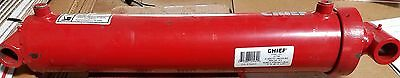 """NEW 4"""" BORE x 18"""" STROKE WELDED CYLINDER WITH 2 1/4"""" ROD   CHIEF WT 3000 PSI"""