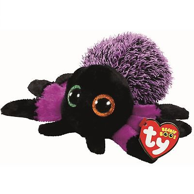 Ty Beanie Boos 37248 Creeper the Purple Spider Boo