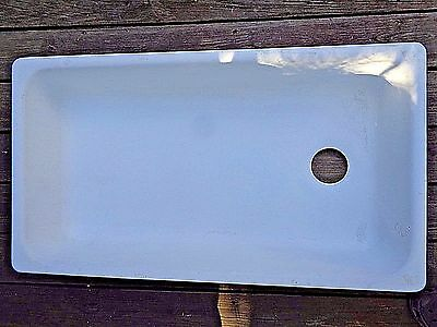Antique Laundry Sink  Basin,porcelain  Enamel Iron,standard Sanitary Mfg.co.1939