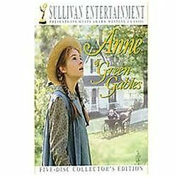 ANNE OF GREEN GABLES The Collector's Edition (DVD, 2008, 5-Disc) FREE SHIPPING