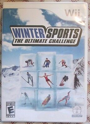 Nintendo Wii Winter Sports (Manual, box and game) #2