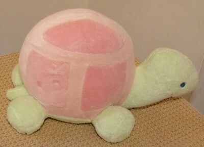 "Little Me Childrenswear Company TURTLE  9"" Stuffed Plush Animal Toy Baby Lovey"